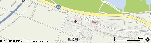 山形県酒田市落野目杉之崎6周辺の地図