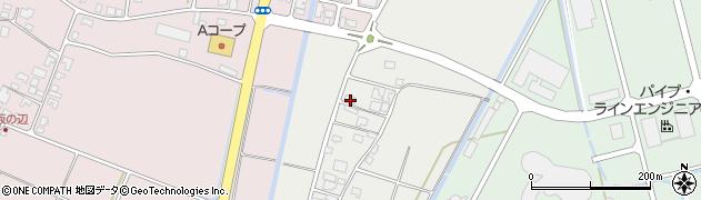 山形県酒田市広野奥井238周辺の地図
