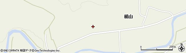 山形県酒田市楯山岩花70周辺の地図