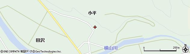 山形県酒田市田沢小平62周辺の地図