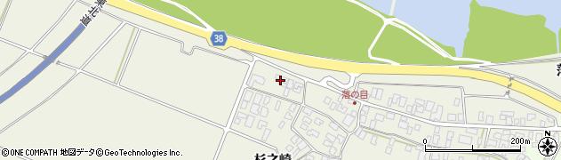 山形県酒田市落野目川前54周辺の地図