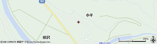 山形県酒田市田沢小平47周辺の地図