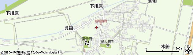 山形県酒田市新堀豊森87周辺の地図