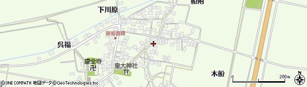 山形県酒田市新堀豊森144周辺の地図