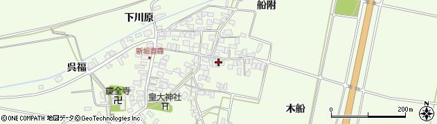山形県酒田市新堀豊森154周辺の地図