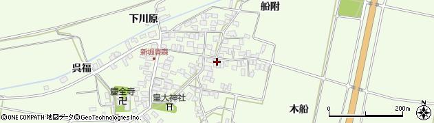 山形県酒田市新堀豊森152周辺の地図
