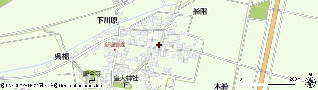 山形県酒田市新堀豊森149周辺の地図