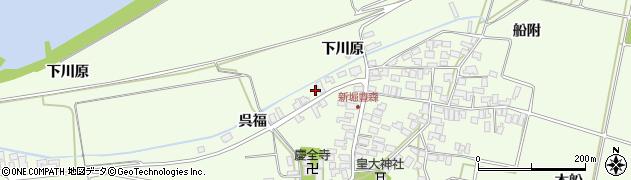 山形県酒田市新堀豊森197周辺の地図