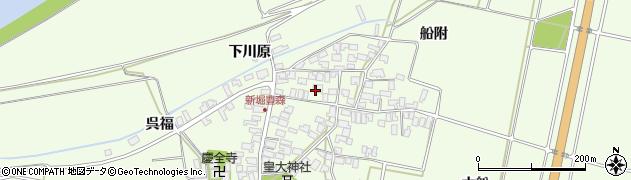 山形県酒田市新堀豊森101周辺の地図