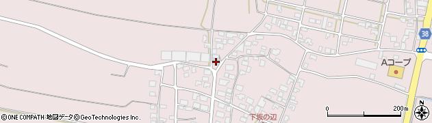 山形県酒田市坂野辺新田乙周辺の地図