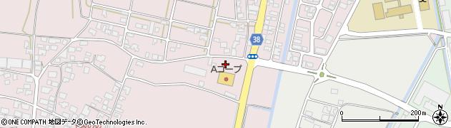 山形県酒田市坂野辺新田周辺の地図