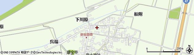 山形県酒田市新堀豊森182周辺の地図