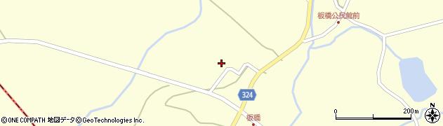 山形県最上郡金山町朴山657周辺の地図