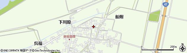 山形県酒田市新堀豊森166周辺の地図