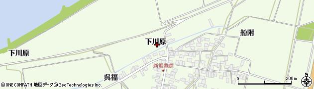 山形県酒田市新堀下川原35周辺の地図