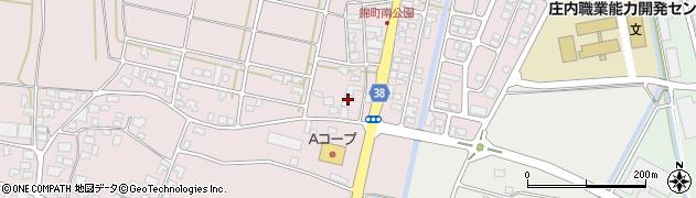 山形県酒田市坂野辺新田戊周辺の地図