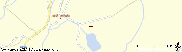 山形県最上郡金山町朴山655周辺の地図