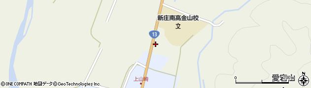 山形県最上郡金山町山崎244周辺の地図