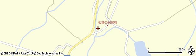 山形県最上郡金山町朴山548周辺の地図