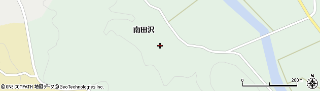 山形県酒田市田沢南田沢66周辺の地図