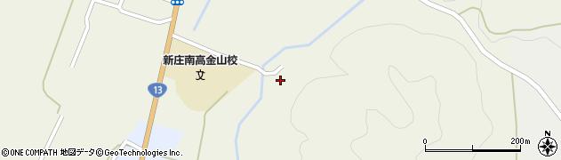 山形県最上郡金山町金山233周辺の地図