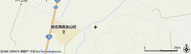 山形県最上郡金山町金山2144周辺の地図