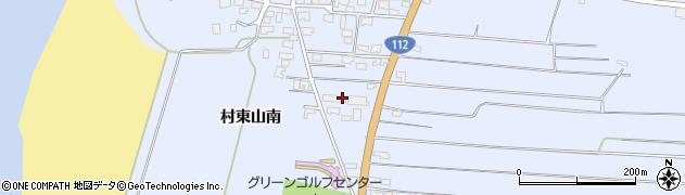山形県酒田市十里塚村東山南359周辺の地図