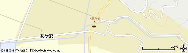 山形県酒田市茗ケ沢沢尻145周辺の地図