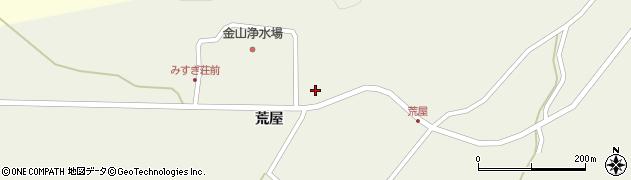 山形県最上郡金山町金山荒屋347周辺の地図