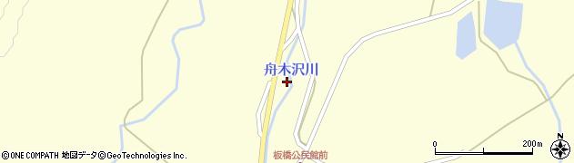 山形県最上郡金山町朴山528周辺の地図