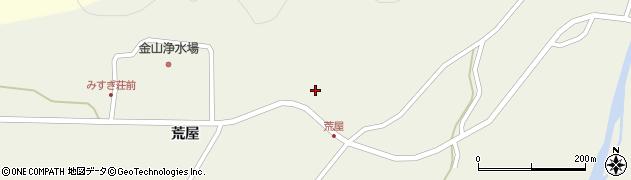 山形県最上郡金山町金山荒屋338周辺の地図