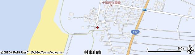 山形県酒田市十里塚甲周辺の地図
