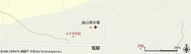山形県最上郡金山町上台荒屋山1241周辺の地図