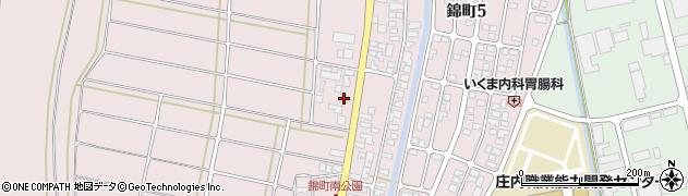 山形県酒田市坂野辺新田東狢山185周辺の地図