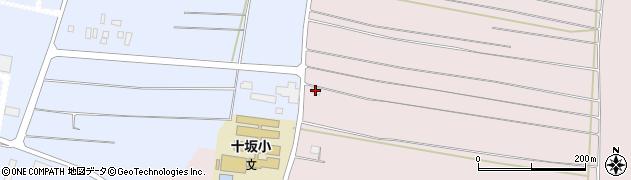 山形県酒田市坂野辺新田西狢山20周辺の地図
