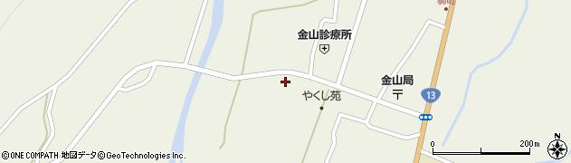 山形県最上郡金山町金山602周辺の地図