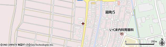 山形県酒田市坂野辺新田東狢山225周辺の地図