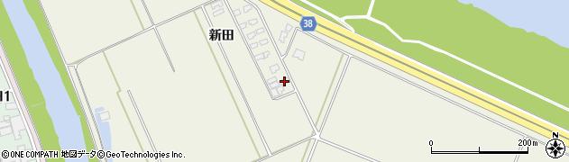 山形県酒田市落野目新田98周辺の地図