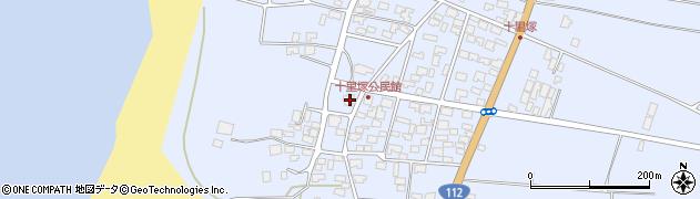 山形県酒田市十里塚高砂子周辺の地図