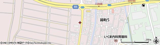 山形県酒田市坂野辺新田東狢山235周辺の地図