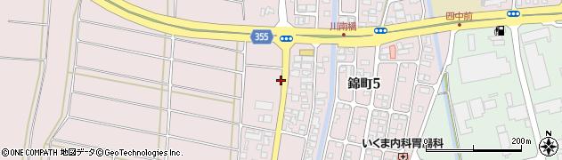 山形県酒田市坂野辺新田東狢山255周辺の地図