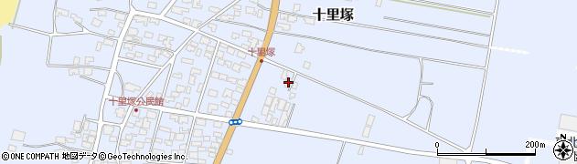 山形県酒田市十里塚村東山北5周辺の地図