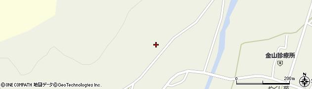 山形県最上郡金山町金山荒屋20周辺の地図