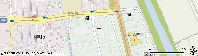 山形県酒田市京田2丁目59周辺の地図
