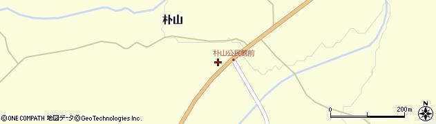 山形県最上郡金山町朴山221周辺の地図