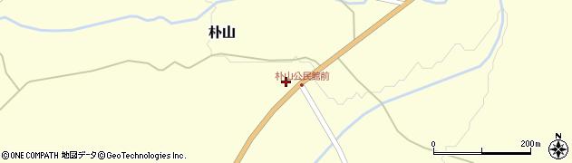 山形県最上郡金山町朴山259周辺の地図