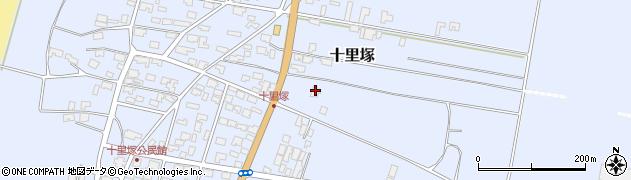 山形県酒田市十里塚村東山北5-106周辺の地図