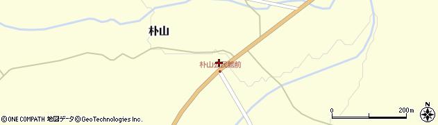 山形県最上郡金山町朴山256周辺の地図