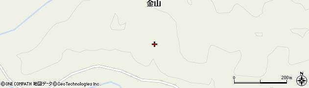 山形県最上郡金山町金山入田茂沢周辺の地図