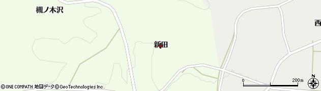 岩手県一関市藤沢町砂子田(新田)周辺の地図